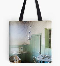 """""""Nowhere to Go"""" Bodie CA, at dining Tote Bag"""