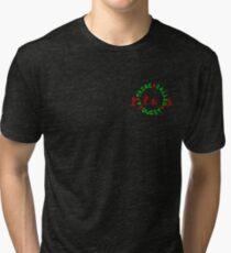 A Tribe Called Quest replica chest  Tri-blend T-Shirt