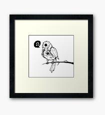 Gothic Birdie Framed Print