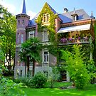 South Tirol, Merano, Beautiful Mansion, HDR by Daidalos