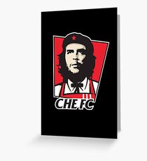 Che Guevara - KFC edition Greeting Card