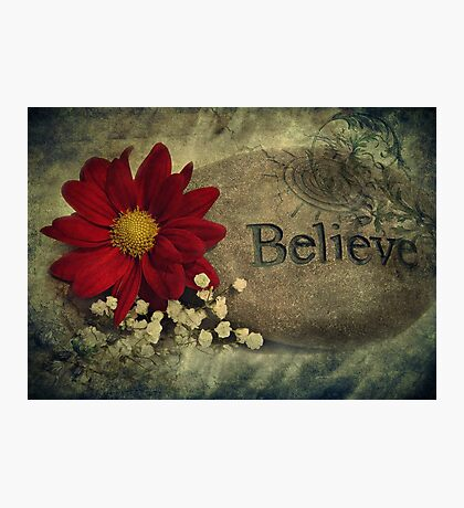 I Believe Photographic Print