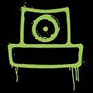 «spray can verde» de manuvila
