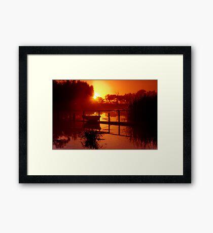 """""""Golden Shroud"""" Framed Print"""