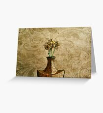 noble simplicity Greeting Card