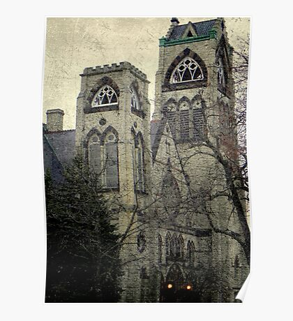 Old Gothic church ©  Poster