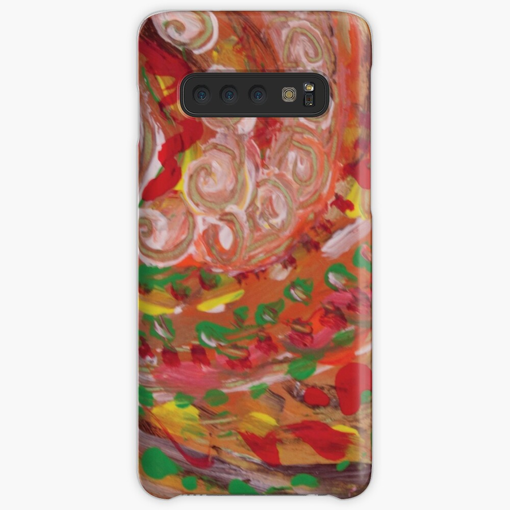 swirling curls abstraction Samsung Galaxy Snap Case