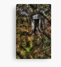 Thunderbox - Hill End, NSW,Australia - The HDR Experience Canvas Print