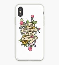"""""""Things Are Shaping Up To Be Pretty. Odd."""" iPhone Case"""