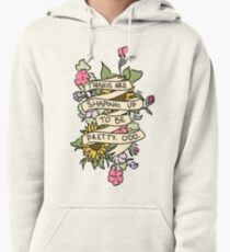 """""""Things Are Shaping Up To Be Pretty. Odd."""" Pullover Hoodie"""