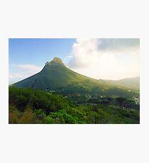 Capetown Landscape, South Africa Photographic Print