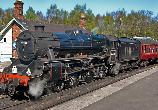 "No 45428  ""Eric Treacy"" Steam Train  - Grosmont. by Trevor Kersley"