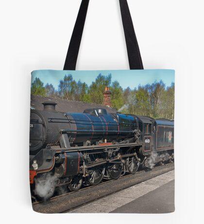 "No 45428  ""Eric Treacy"" Steam Train  - Grosmont. Tote Bag"