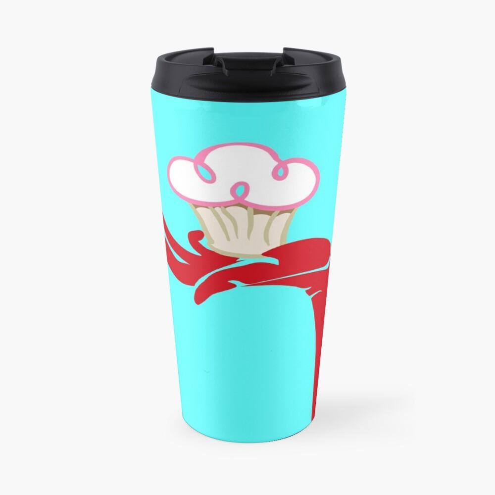 Devils hand, cupcake Travel Mug