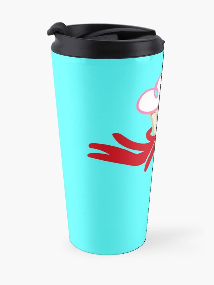 Alternate view of Devils hand, cupcake Travel Mug