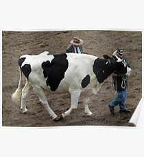 FONZY THE HOLSTEIN @ ROYAL EASTER SHOW  Poster
