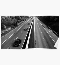 M18-Motorway Poster