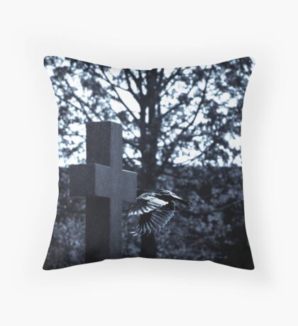 But who is stronger than death? Throw Pillow