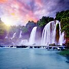 Banyue waterfall by MotHaiBaPhoto Dmitry & Olga