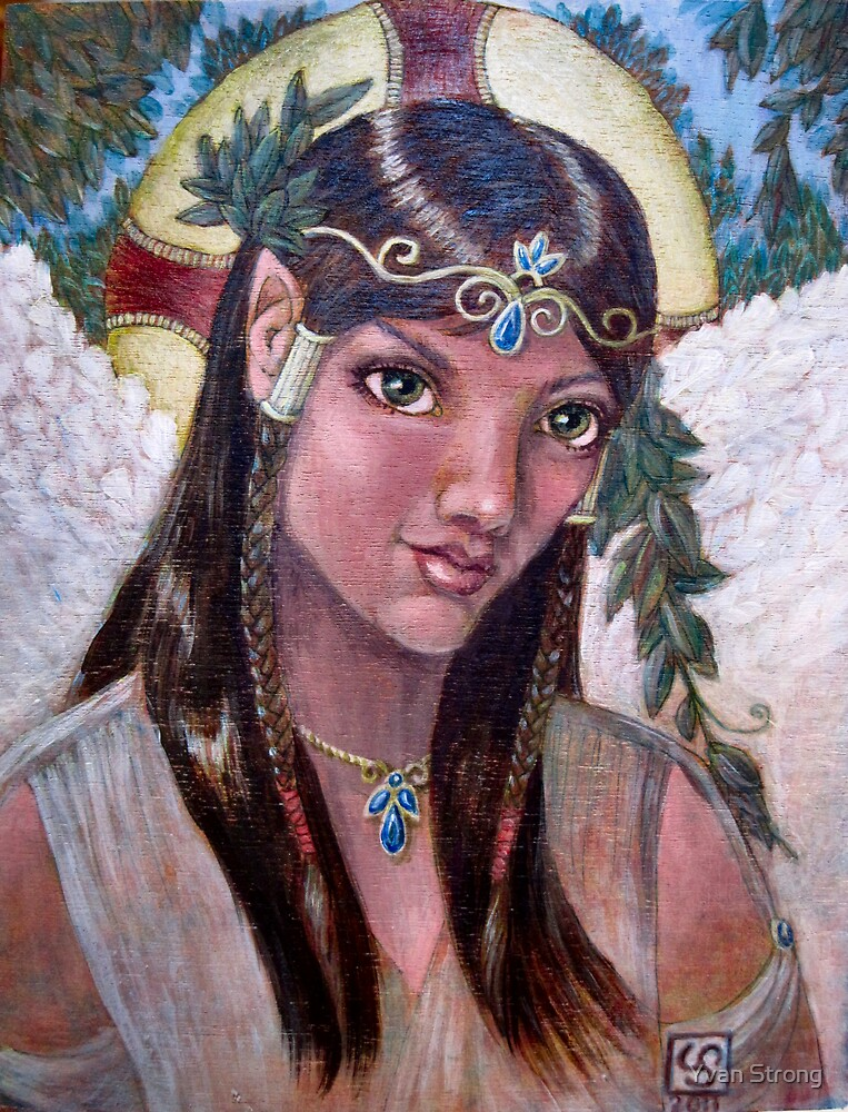 Yavanna, Kementari - one of the Valar by Yvan Strong