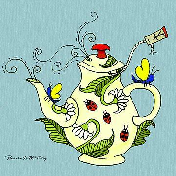Tea Garden by DeepRedTiger