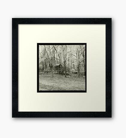 Forgotten Playground Framed Print