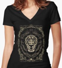 Royal Women's Fitted V-Neck T-Shirt
