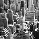 NY View from Above by Celia Strainge