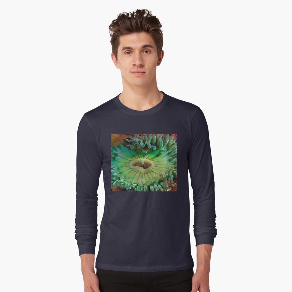 Aggregating Anemone Long Sleeve T-Shirt