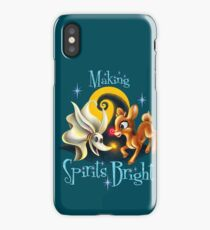 Making Spirits Bright iPhone Case/Skin