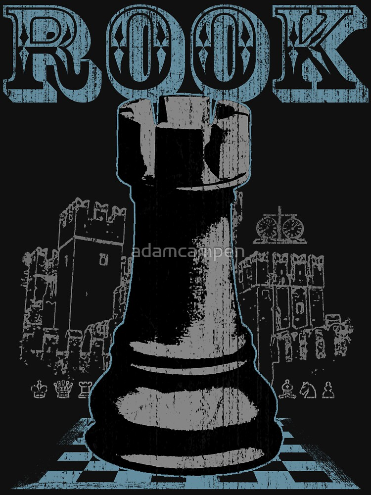 Chess Mate: Black Rook by adamcampen