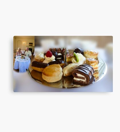 High Tea at Newstead Abbey, Canvas Print