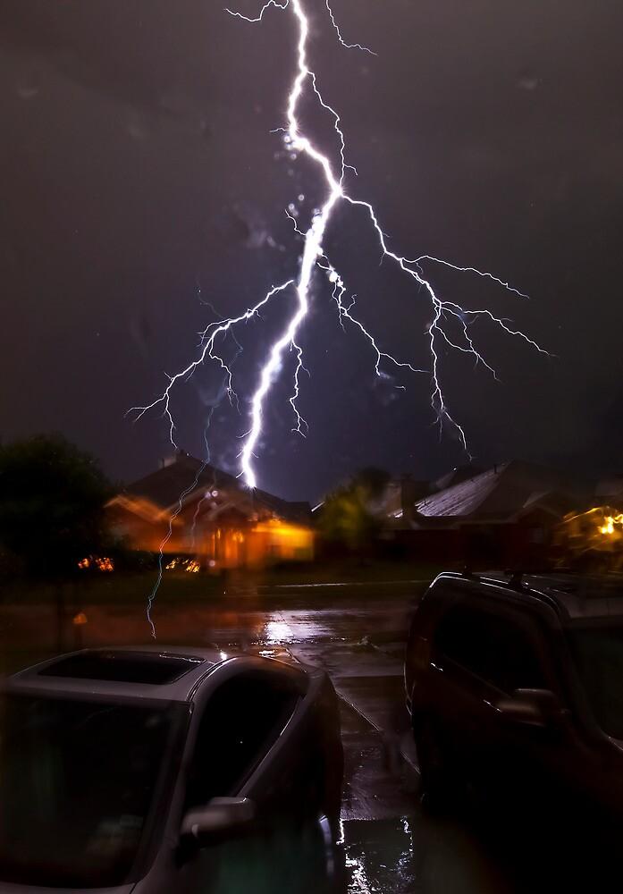Texas Lightening by Bob Vaughan