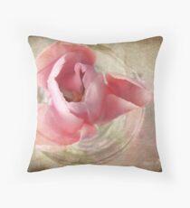 Pink shadows Throw Pillow