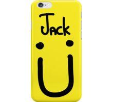 Jack U black iPhone Case/Skin