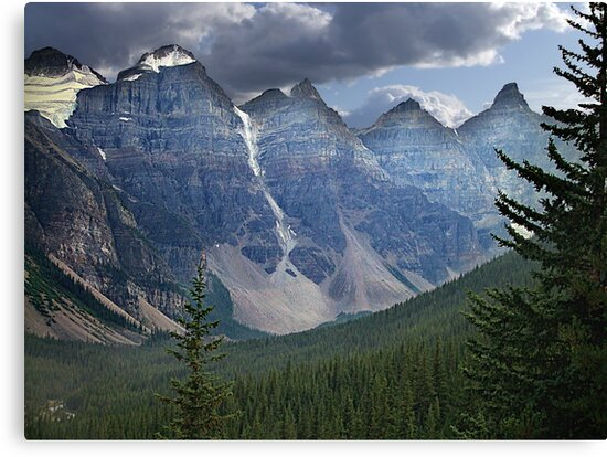 Valley of the Ten Peaks by George Cousins