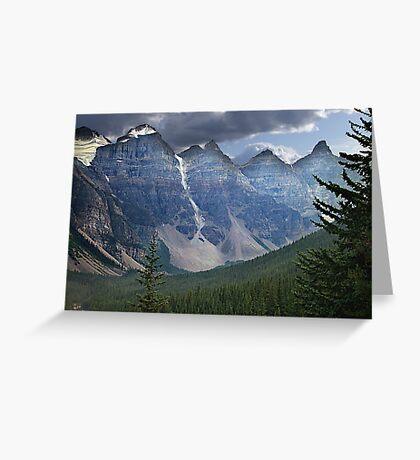 Valley of the Ten Peaks Greeting Card
