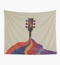 Guitar Half Full of Wine Tapestry