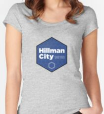 Hillman City Seattle, 98118 Women's Fitted Scoop T-Shirt