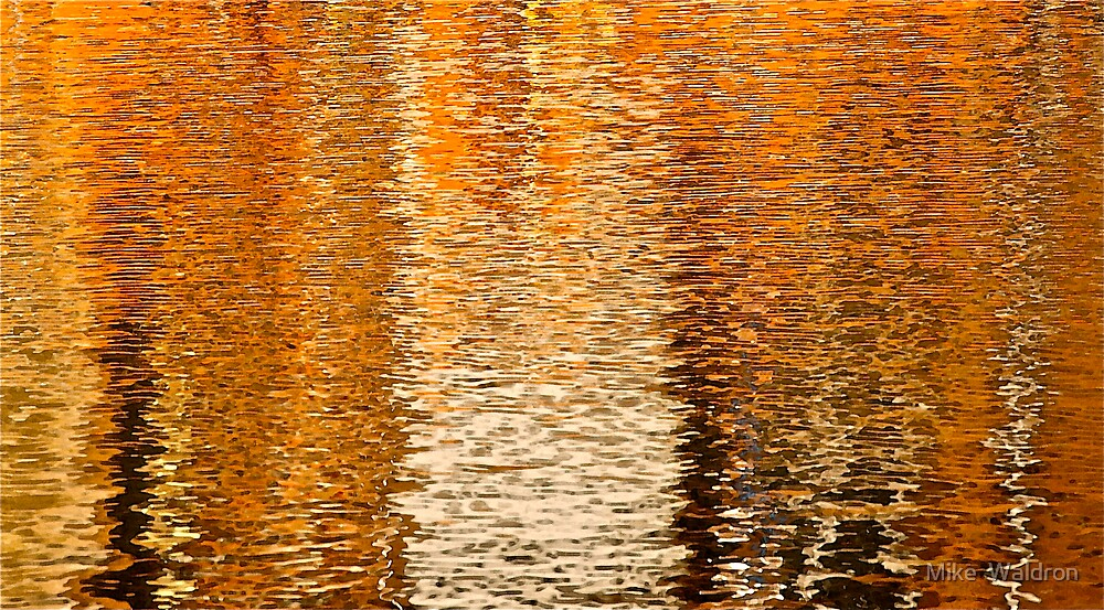 Reflections.. by Mike  Waldron