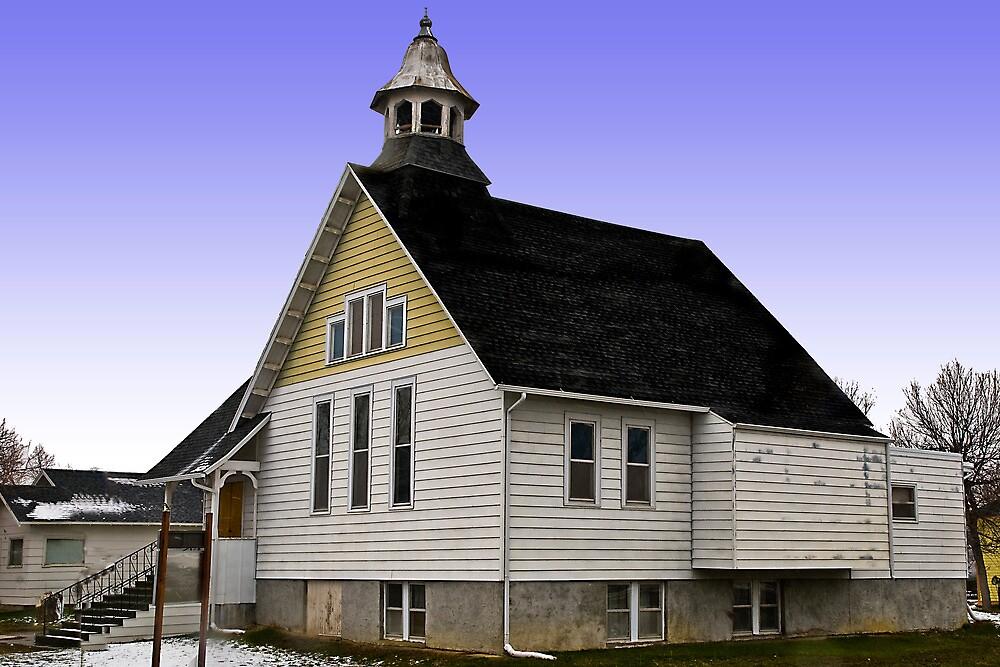 Lavina (Montana) United Methodist Church by Bryan D. Spellman