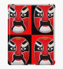 Chinese Mask Pattern #2 iPad Case/Skin