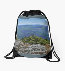 Green Mountains of Vermont Drawstring Bag