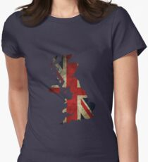 Great Britain - England Womens Fitted T-Shirt