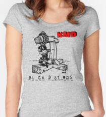 KMD Women's Fitted Scoop T-Shirt