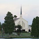Lake Morton Church by Laurie Perry