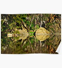 Turon River reflections Poster
