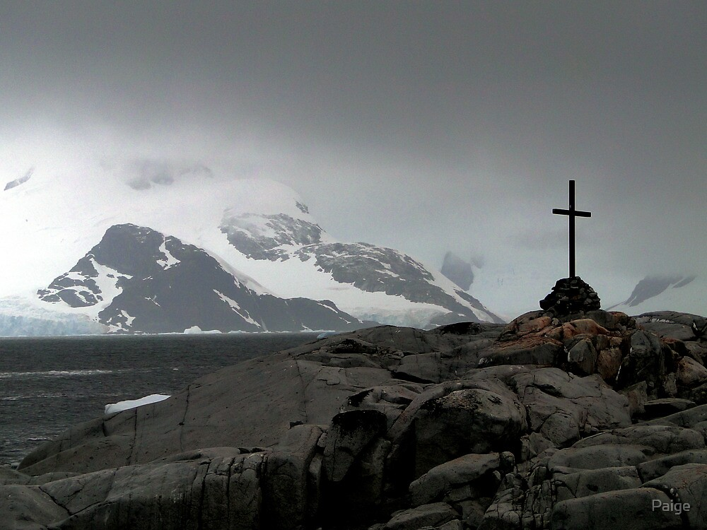 Cross on the White Continent by Paige