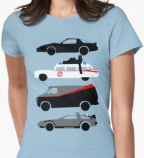 The Car's The Star Women's Fitted T-Shirt