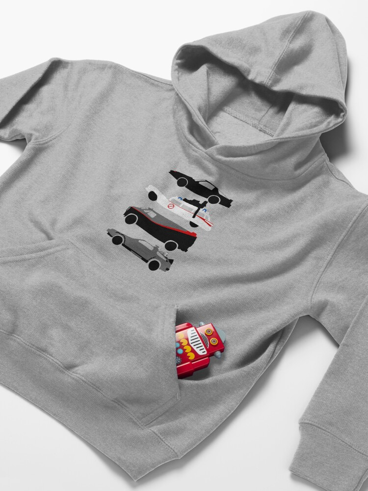 Alternate view of The Car's The Star Kids Pullover Hoodie